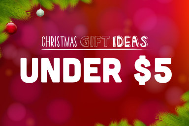 Gifts Under $5 - Let's High Five To Savings