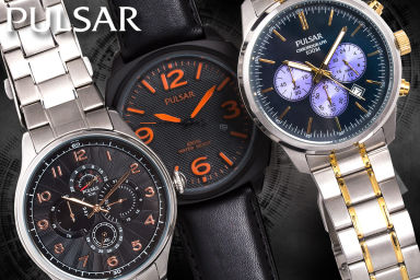 Pulsar Watches For Men & Women Clear Out