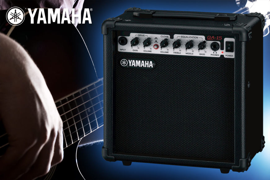 Yamaha 15W Guitar Amplifier