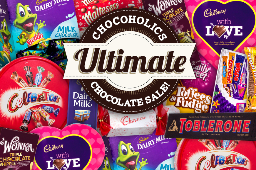 Our Biggest Ever Chocolate Sale