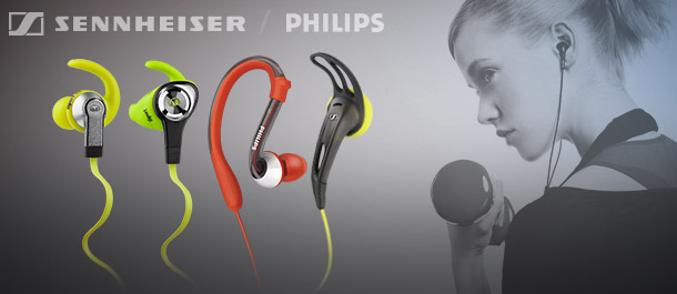 Active Headphones For Sports & Gym