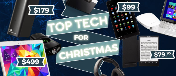 Top Tech for Christmas