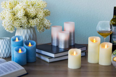 Flameless Scented Candle Trios Under $20