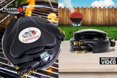 Grillbot Auto Barbecue Grill Cleaning Robot