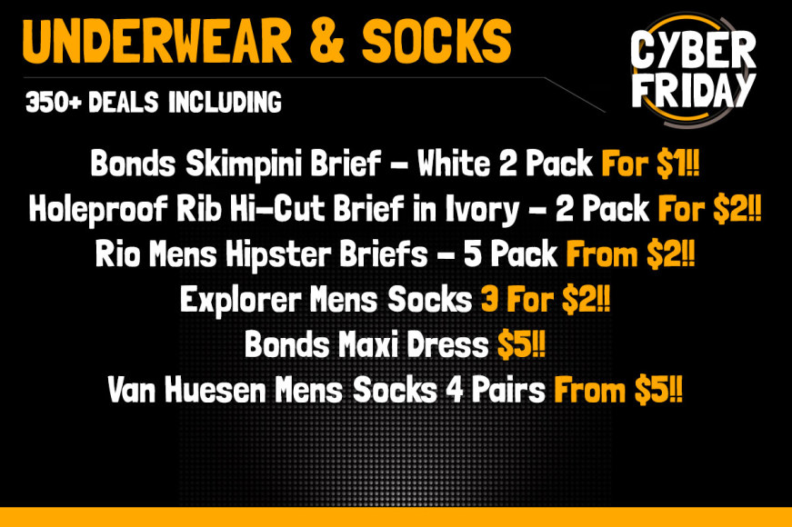 UNDERWEAR & SOCKS!
