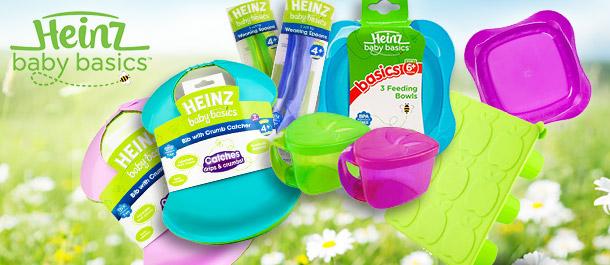 Heinz Baby Basics Feeding Range