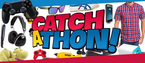 Catchathon - Huge Deals, Itty Bitty Prices