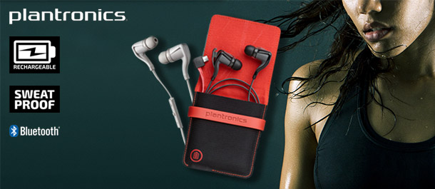 Plantronics BackBeat Go2 Earphones