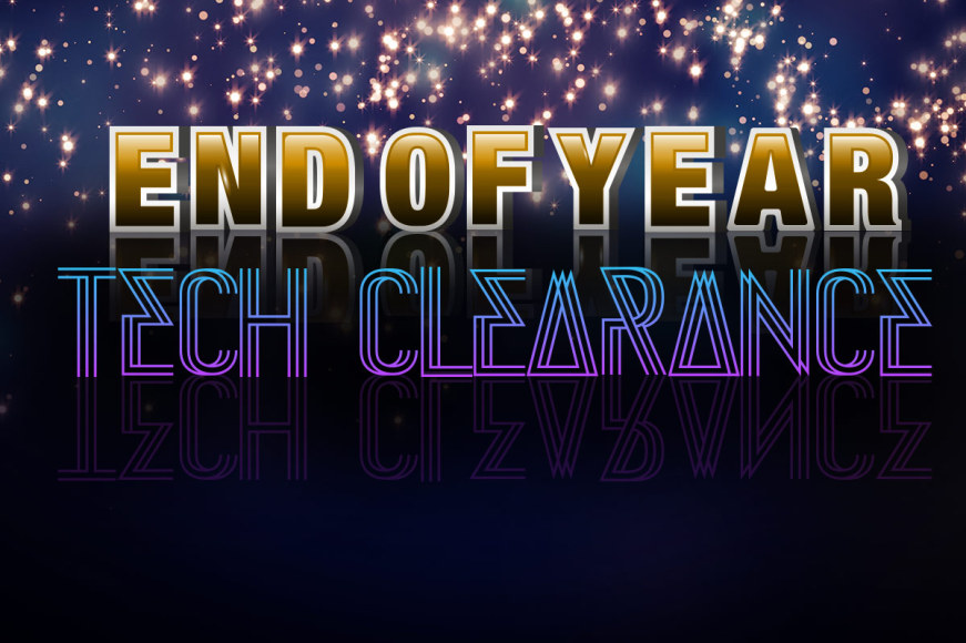 End Of Year Tech Clearance