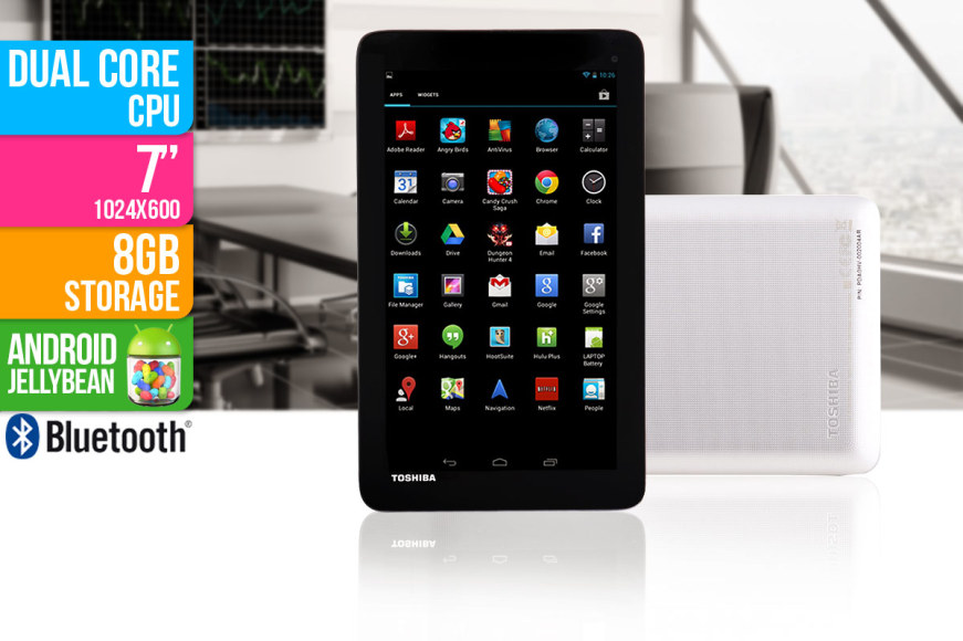 "Toshiba Excite 7"" Android Tablet"