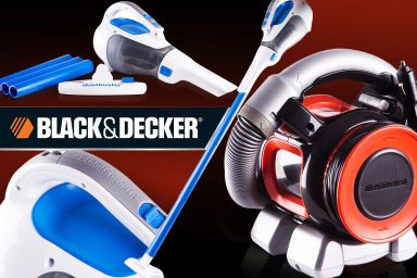 Black & Decker Dustbusters