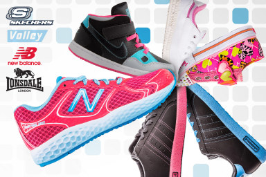 Big Brand Kids' Active Footwear