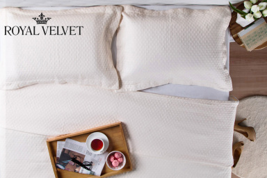 Royal Velvet Cotton Matelassé Bed Linen