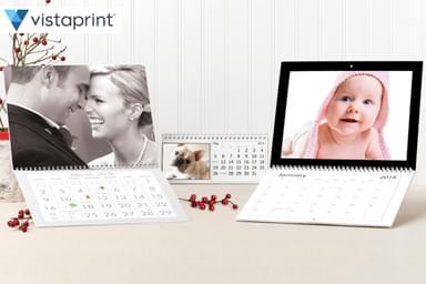 Vistaprint Wall & Desk Calendar Packs