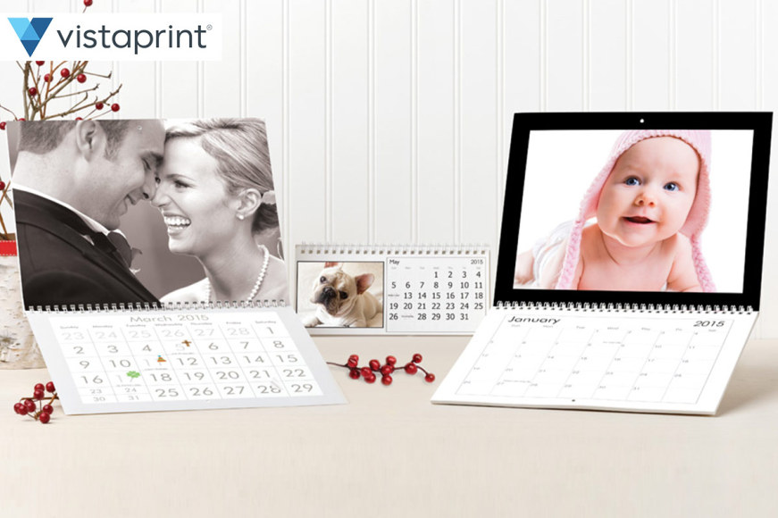 Vistaprint Wall & Desk Calendar Packs