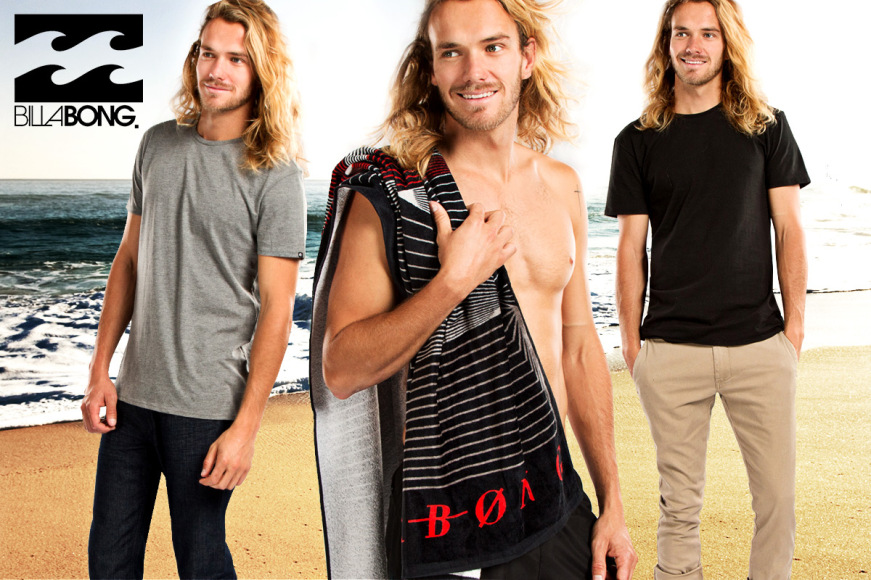 Fresh Billabong Men's Apparel