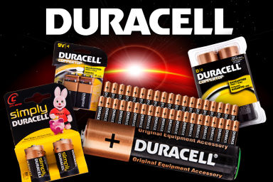 Price Smash On Duracell Battery Packs