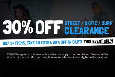 STREET SALE: Buy 3+ Items, Take An Extra 30% Off In Cart
