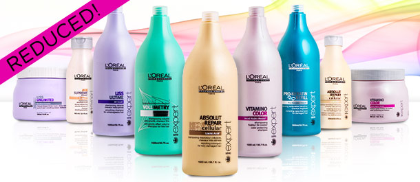 L'Oreal Serie Expert Haircare Reduced