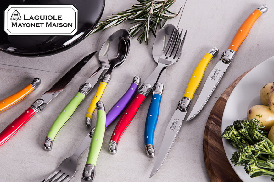 Laguiole French-Inspired Cutlery Sets