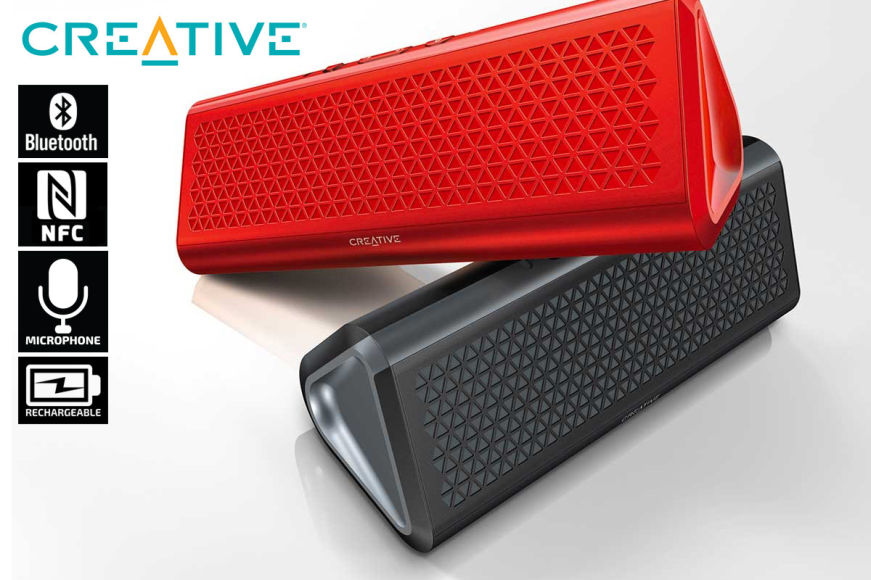 Creative Airwave HD Portable Speakers