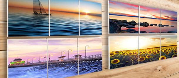 3-Piece Landscape Canvas Prints