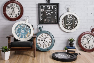 Rustic Antique Wall Clocks
