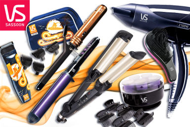 VS Sassoon Style & Groom Tools