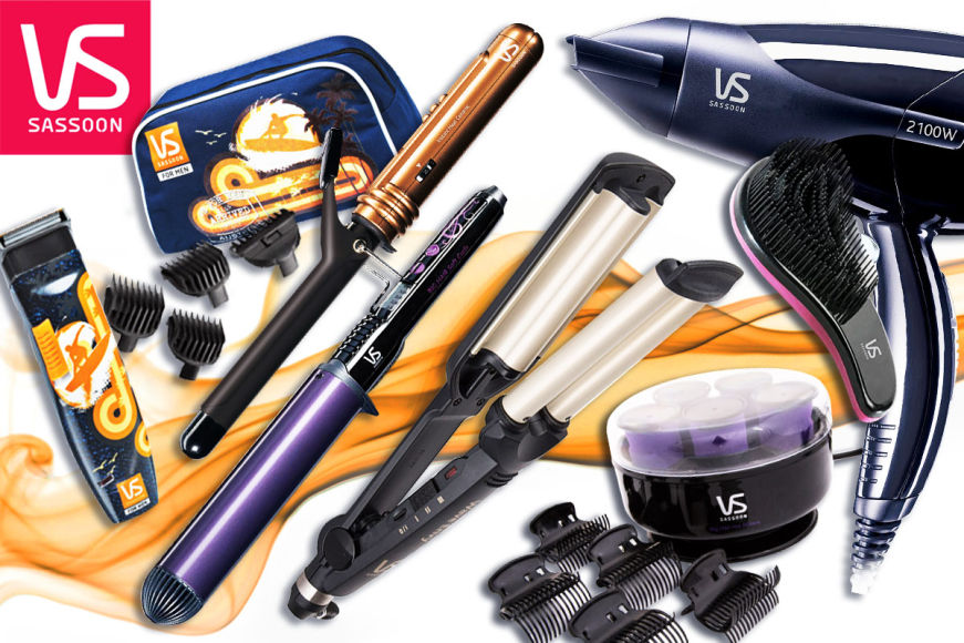 VS Sassoon Style & Groom Tools