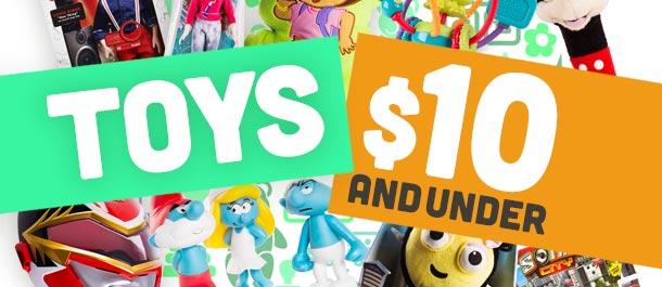 Toys Under $10
