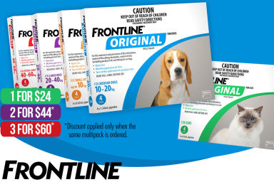 Up To 50% Off Frontline Original Multipacks