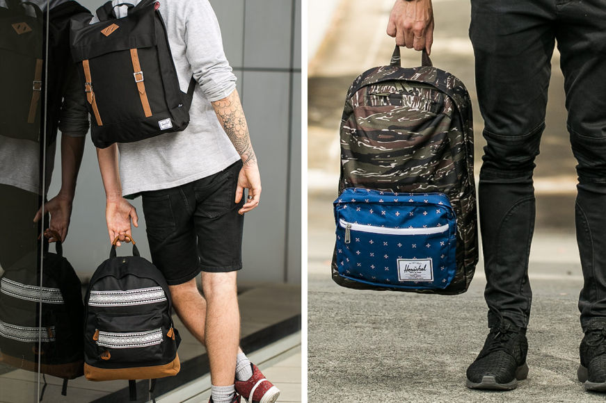 Herschel Supply Co & Mi-Pac Bags