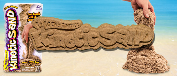 Get The Kids Creative With Kinetic Sand