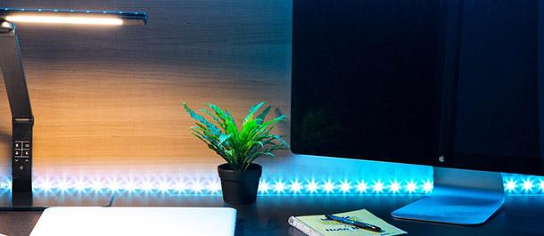 LED Strip Lighting & Reading Lamps