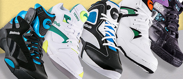 Reebok Pumps Under $120