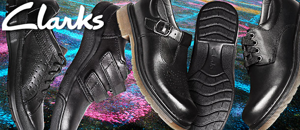 Clarks Kids' Classic School Shoes