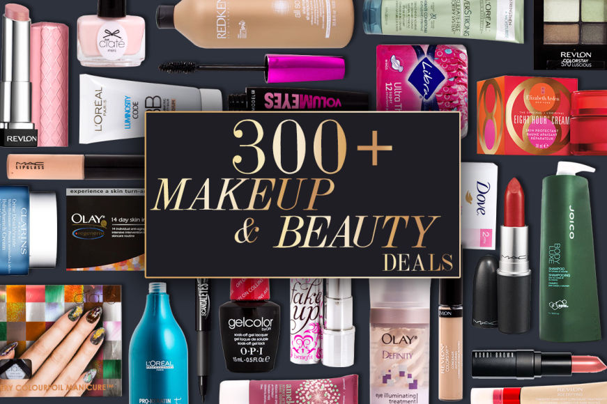 300+ Makeup & Beauty Deals