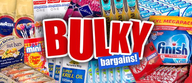 500+ Bulk Grocery Deals