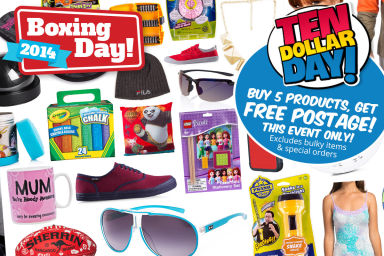 $10 Day: Buy 5+ Items & Get FREE postage