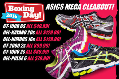 ASICS Crazy Boxing Day Clearance