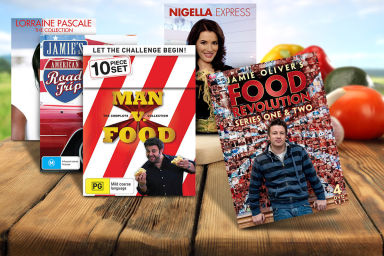 Celebrity Chef Cooking DVDs