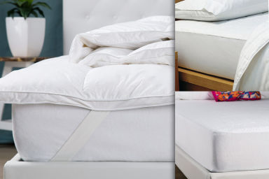 Mattress Toppers, Protectors & More