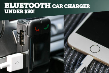 Bluetooth Car Charger - Under $30!
