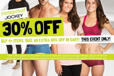 Holeproof & Jockey Men's & Women's Underwear