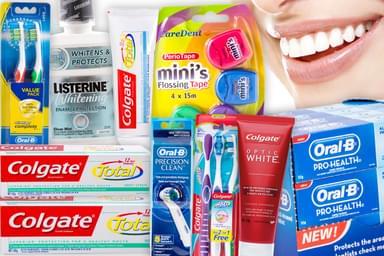 Colgate, Oral-B, Listerine & More