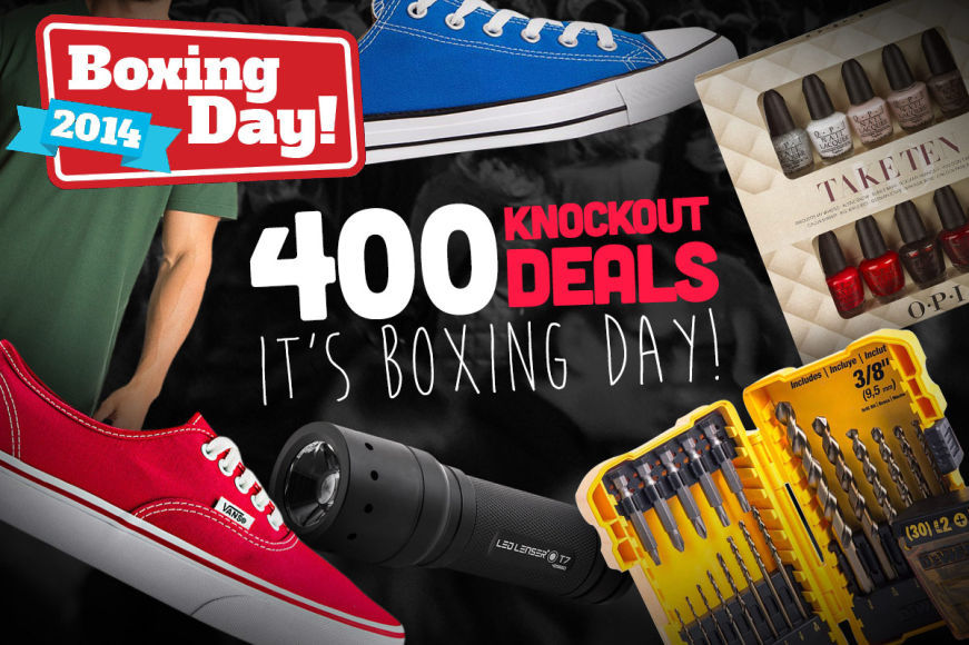 400+ Knockout Deals - It's Boxing Day
