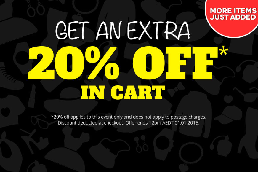 Boxing Day: Get An Extra 20% Off In Cart