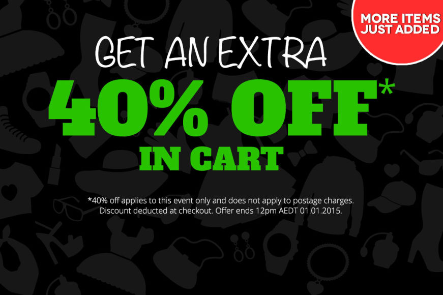 Boxing Day: Get An Extra 40% Off In Cart