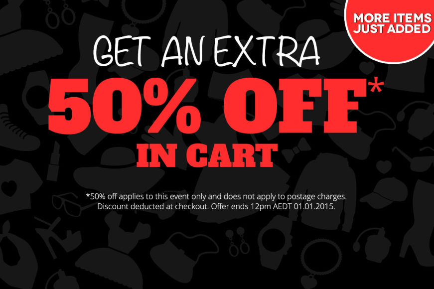 Boxing Day: Get An Extra 50% Off In Cart