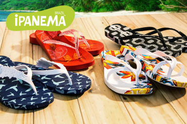 iPANEMA Footwear For All The Family
